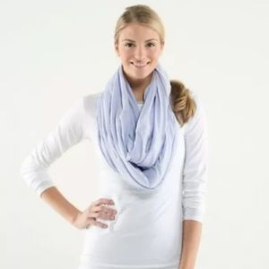 Lululemon diversity scarf in cool breeze (purple)